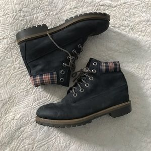 Men's Timberland Suede Ankle Boots - Sz 6
